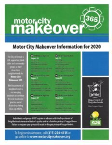 Motor City Makeover @ Various Detroit City Neighborhoods